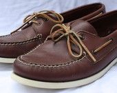 Vintage Sperry Top-Siders. Authentic original style.