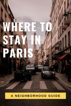 Where to Stay in Paris. A complete neighborhood guide to the Paris Arrondissements including maps affordable Airbnbs in Paris and what to do in each Paris neighborhood. Find the best places to stay in Paris here. Travel With Kids, Family Travel, Places To Travel, Travel Destinations, Paris Neighborhoods, Travel Guides, Travel Tips, Budget Travel, Time Travel