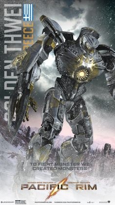 Pacific Rim Jaeger Names | Pacific Rim Colouring Pages