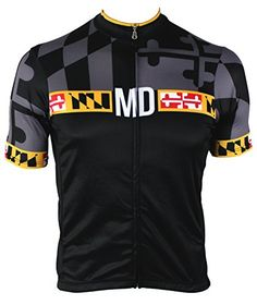 Mens Maryland Blackout Cycling Jersey Medium   Want additional info  Click  on the image. 6748610d2
