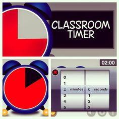 iPad Apps For Classroom Management Classroom Timer, 2nd Grade Classroom, Flipped Classroom, Future Classroom, Primary Classroom, Classroom Management Primary, Classroom Organisation, Classroom Activities, Classroom Ideas