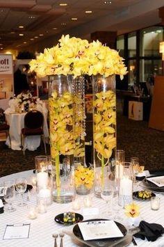 Beautiful Yellow Flower Arrangements