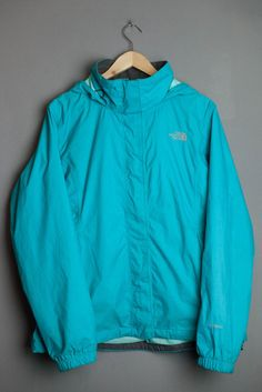 The North Face Hyvent Jacket Coat Womens Ladies Size L Large Resolve Hooded