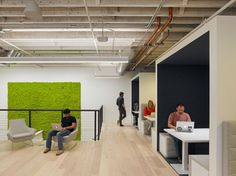 S.F. startups are in the green when it comes to office design