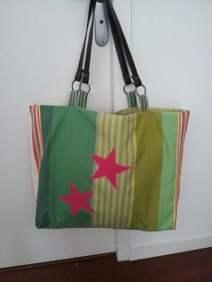 Hand bag made by biarritz inside