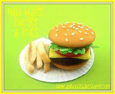 Dollhouse Bake Shoppe: Nilla Wafer Mini Food