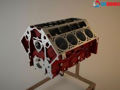 Engine Block by William Owsley - Artist Used Engines, Engine Block, 3d Artist, Ford Explorer, Ford Ranger, Toyota Camry, Honda Civic, Engineering, Design Inspiration