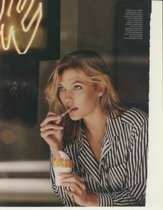 """senyahearts: """" Karlie Kloss in """"A View From The Top"""" for Lucky Magazine, October 2014 Photographed by: Paola Kudacki """" Illinois, Claudia Schiffer, Karlie Kloss Style, Paola Kudacki, High Fashion Models, Top Models, Lucky Magazine, Celebs, Celebrities"""