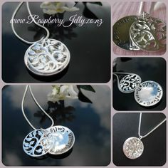 Elegant Sophistication... The Treasure Tree is an extremely popular pendant because of it's treasure hidden inside the locket style pendant.