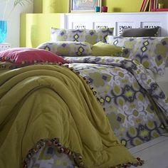 Grey 'Chahna' bed linen