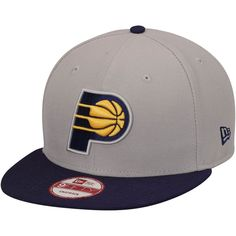 timeless design 62ec0 e0beb Mens Indiana Pacers New Era Gray Team 9FIFTY Snapback Adjustable Hat, Your  Price   29.99