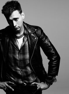 leather jacket men tumblr - Buscar con Google