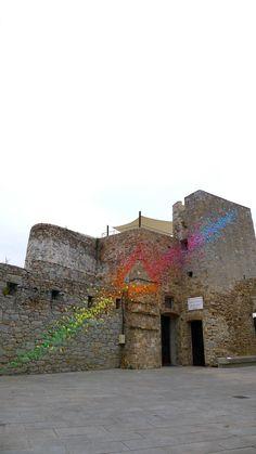 Corsica – Porto Vecchio | Mademoiselle Maurice's origami street art installations
