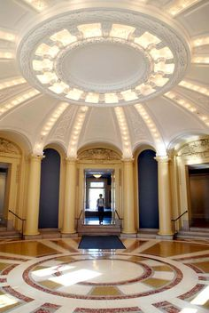 Woolsey Hall Rotunda   Filming at Yale University — Yale Campus Location Gallery - Search By Category