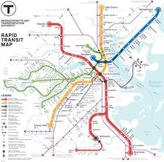 Map Battle of the Day: Pick Boston's Best Subway Map Redesign