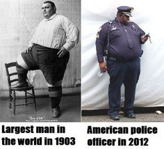 Being fat was once a job. Now it's part & parcel of the job.