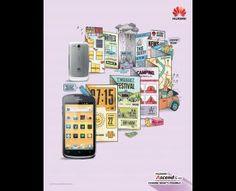 Huawei Ascend G300, Huawei Mobile Phone, Arnold Furnace , Huawei, Print, Outdoor, Ads