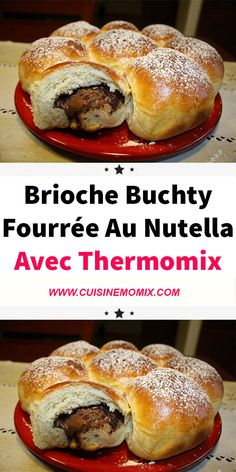 Uncover the recipe for the Buchty brioche with Nutella filling, a scrumptious brioche, straightforward and easy to make with Thermomix, and ideal for breakfast or afternoon tea. Lidl, Thermomix Desserts, Vegetable Drinks, Vegetable Gardening, Homemade Muesli, Lean Protein, Eating Plans, Tray Bakes, Afternoon Tea
