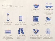 Forever after a hygge lifestyle. The official Hygge Manifesto to help you create a cozy home. Konmari, Casa Hygge, Danish Words, Hygge Life, Up Book, Way Of Life, Simple Living, Self, Mindfulness