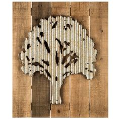 Round Wood And Metal Tree Wall Decor Round Tree Wood & Metal Wall Decor  Maasie House 2017  Pinterest
