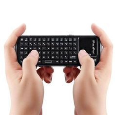 Mini Portable 2.4G 10 Meters RF Wireless Handheld Keyboard Mouse Touchpad LO - http://electronics.goshoppins.com/keyboards-mice-pointing-devices/mini-portable-2-4g-10-meters-rf-wireless-handheld-keyboard-mouse-touchpad-lo/