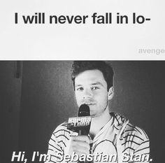 That's so ME!!!!! I thought that I'll never Fall in love with bucky and sebastian stan and than I watched Captain America the first avenger,the Winter soldier and civil war....❤