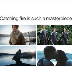 "Miss this time so much... - - - - [#everlark #everthorne #catchingfire #mockingjaypart1…"""