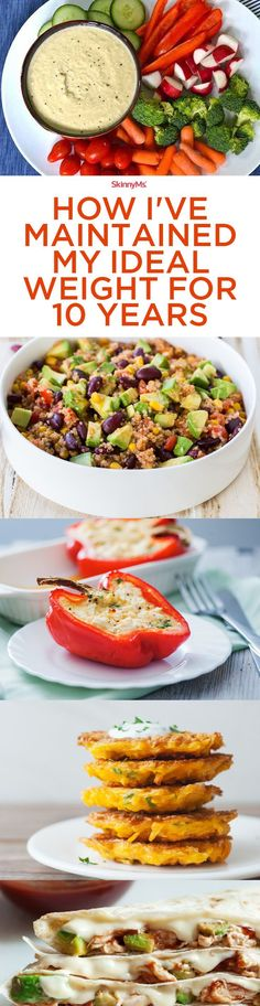 I�m sharing 7 new daily menus that have helped me maintain my ideal weight for a decade. I�ve been successful�and you can too!