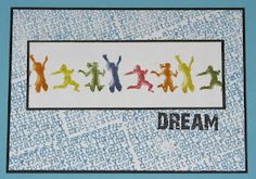 Dream - Jump For Joy - Just For Fun Rubber Stamps