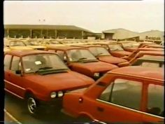 Skoda promo film showing Estelle 105 & 120