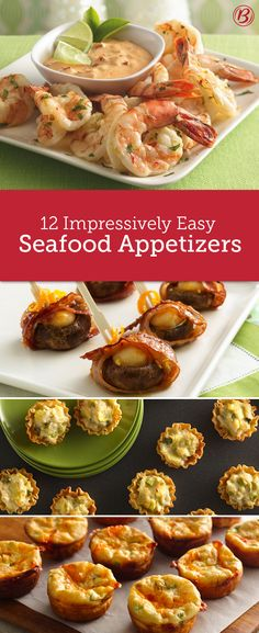 From classic coconut shrimp to fire-roasted crab shooters, guests won't be able to get enough of these apps that are even easier to make than you think!