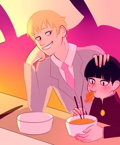 We all know that Reigen loves Mob as if he were his own son