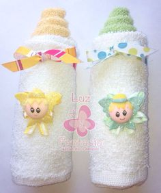 Risultati immagini per manualidades con toallas Idee Baby Shower, Baby Shower Crafts, Baby Crafts, Baby Shower Parties, Baby Shower Themes, Diy And Crafts, Towel Origami, Towel Animals, Baby Washcloth
