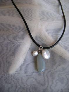 Simple Beach Necklace by smisko on Etsy, $36.00