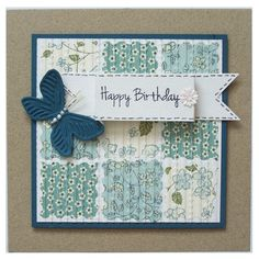 Handmade Happy Birthday Card £3.00