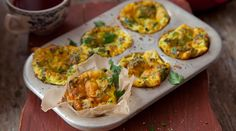 Mini Courgette and Cheddar Frittatas. These muffins are great to make in advance and make it easy to have a healthy breakfast on the go!