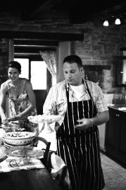 Cooking with Spring's Wild Edibles in Italy: 29 March – 2 April 2012.  Includes accommodations, guided wild edible walk, 2 half day cooking class with apron & cookbook gift, two meals with wine, five course dinner and breakfast daily.