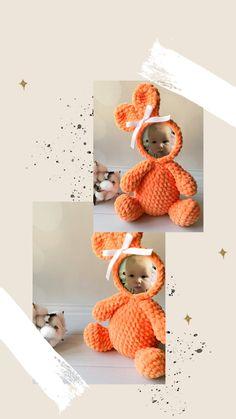 Handmade Ideas, Handmade Decorations, Handmade Baby, Handmade Toys, Etsy Handmade, Foto Frame, Baby Stuffed Animals, Crochet Octopus, Crochet Mouse