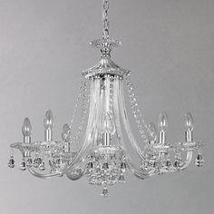 Buy john lewis estella chandelier 5 arm online at johnlewis buy john lewis ophelia crystal chandelier 8 light online at johnlewis aloadofball Choice Image