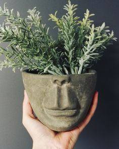 This flowerpot is so different from any other. Handmade in Porvoo.  www.instagram.com/solbackadesign Handmade Soaps, Flower Pots, Planter Pots, Instagram, Design, Flower Vases, Planters, Flower Planters