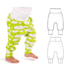 cuff waist harem pants : 48