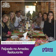 No último sábado dia 30 de abril aconteceu a deliciosa Feijoada do Amadeu Restaurante preparada pelo chef Igor Furlan e claro que eu não ia perder. Acompanhe os Clicks da coluna Fuxicos Davila na Revista DÁvila. http://ift.tt/1UOAUiP (link na bio).