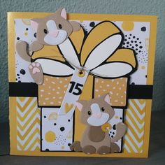 Cat Cards, Marianne Design, Card Ideas, Stencils, Kittens, Projects To Try, Card Making, Presents, Pets