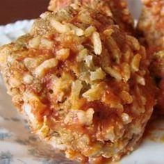 Porcupine Meatballs III - Allrecipes.com