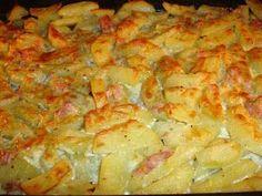 Υλικά 2 κιλά πατάτες κομμένες σε φέτες, λίγο μεγαλύτερες από αυτές για τηγάνισμα 1 κουταλιά της σούπας μουστάρδα Το χυμό ενός λεμονιού 2 κο...