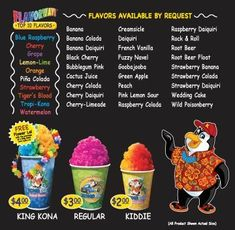 Kona Ice Experience We Are A State Of The Art Tropical Shaved Vehicle Shave Soft As Snow Carry Over 40 Awesome Flavors
