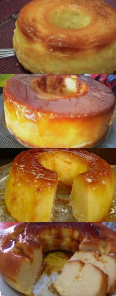 Sweet Recipes, Cake Recipes, Dessert Recipes, Brazilian Carrot Cake, Easy Cooking, Cooking Recipes, Recipe Mix, Portuguese Recipes, Cakes And More