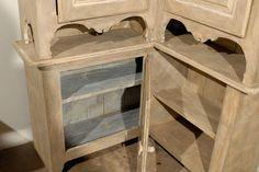 19th Century Swedish Painted Wood Karl Johan Corner Cabinet 5 Corner Cabinets, Corner Cupboard, Painted Wood, Painting On Wood, Cool Furniture, 19th Century, Antiques, Storage, Modern