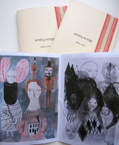cathy cullis - little artist book - wintry songs