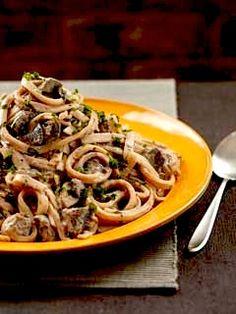 Recipe: Mushroom Stroganoff and Tofu Sour Cream (meatless) - Recipelink.com